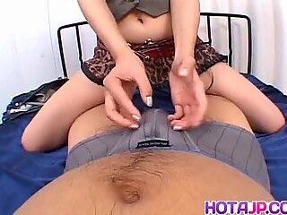 Risa Murakami rides boner - More at hotajp.com