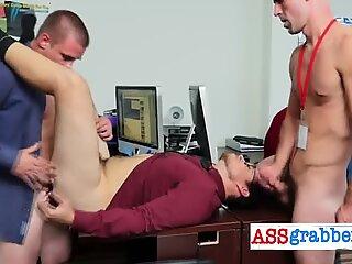 Nasty boy loves blowing big dick