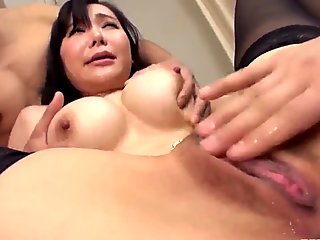 Sensational hardcore milf porn with Japanese Miu Watanabe - More at Pissjp.com