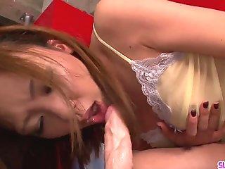 Superb Asian POV sex with lovely model Mio Kuraki