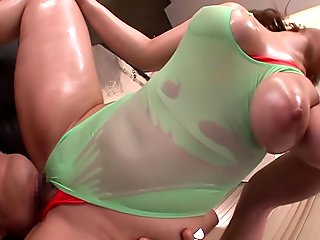 Colossal Titties Ai Gets Double Fucked - MilfsInJapan