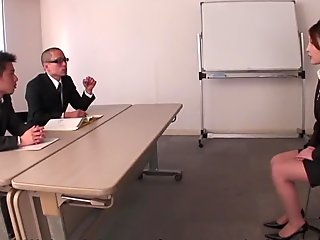 Rara Mizuki had an interesting job interview