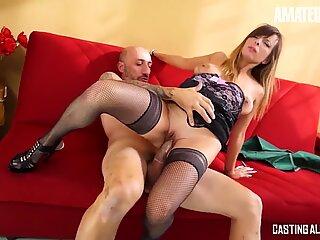 CastingAllaItaliana - Big Tits Italian MILF Rough Anal SEX - AmateurEuro