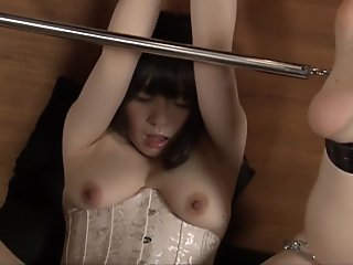 Fabulous Japanese girl in Hottest Masturbation, BDSM JAV movie