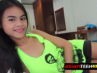Young Asian teen loves to be fucked by strangers from behind.