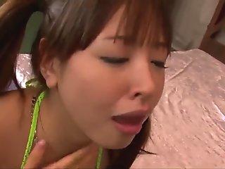 jaw dropping POV oral scenes with Buruma Aoi