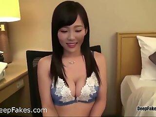 steamy Korean woman romp