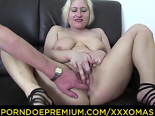 XXX OMAS - Fetish foursome with busty matures