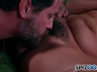 Allie Haze Mob Wife is fucked hard by a huge cock, big booty - Spizoo