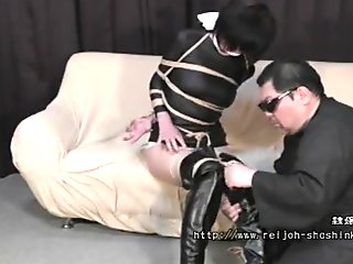 A spy lady Bound and Gagged Full Movie - Miharu Kizaki